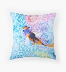 Joy in the Water Throw Pillow