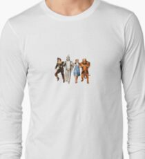 Scarecrow, Tin Man, Dorothy, and the Cowardly Lion Long Sleeve T-Shirt