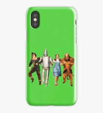 Scarecrow, Tin Man, Dorothy, and the Cowardly Lion iPhone Case/Skin