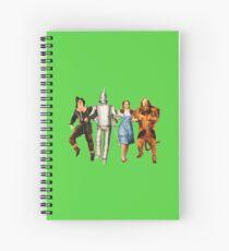 Scarecrow, Tin Man, Dorothy und der Feige Löwe Spiralblock