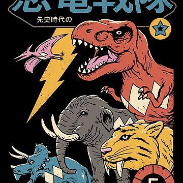 Dino Sentai by vincenttrinidad
