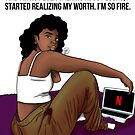 I'm Fire by Sophie Bonhomme