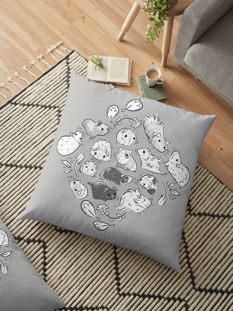 Meerschweinchen Diamant In Grau von Paigekotalik