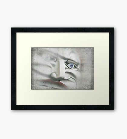 Face of Fun Framed Print
