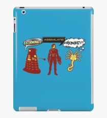 Exterminate, Assimilate, Inseminate! iPad Case/Skin
