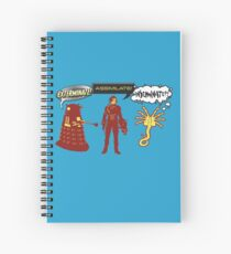 Exterminate, Assimilate, Inseminate! Spiral Notebook