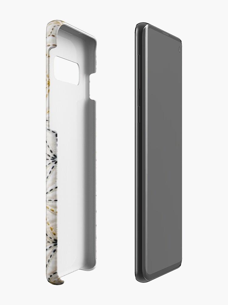 Alternative Ansicht von Geometrischer Quilt! Hüllen & Klebefolien für Samsung Galaxy