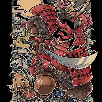 Yopparai - The drunken Samurai by BlackoutStore