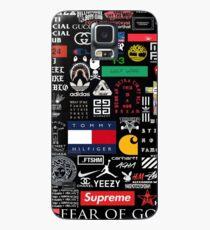 collage marken hip hop beliebt paris Hülle & Klebefolie für Samsung Galaxy