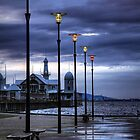 Early Morning Light over Cunningham Pier, Victoria by Christine Smith