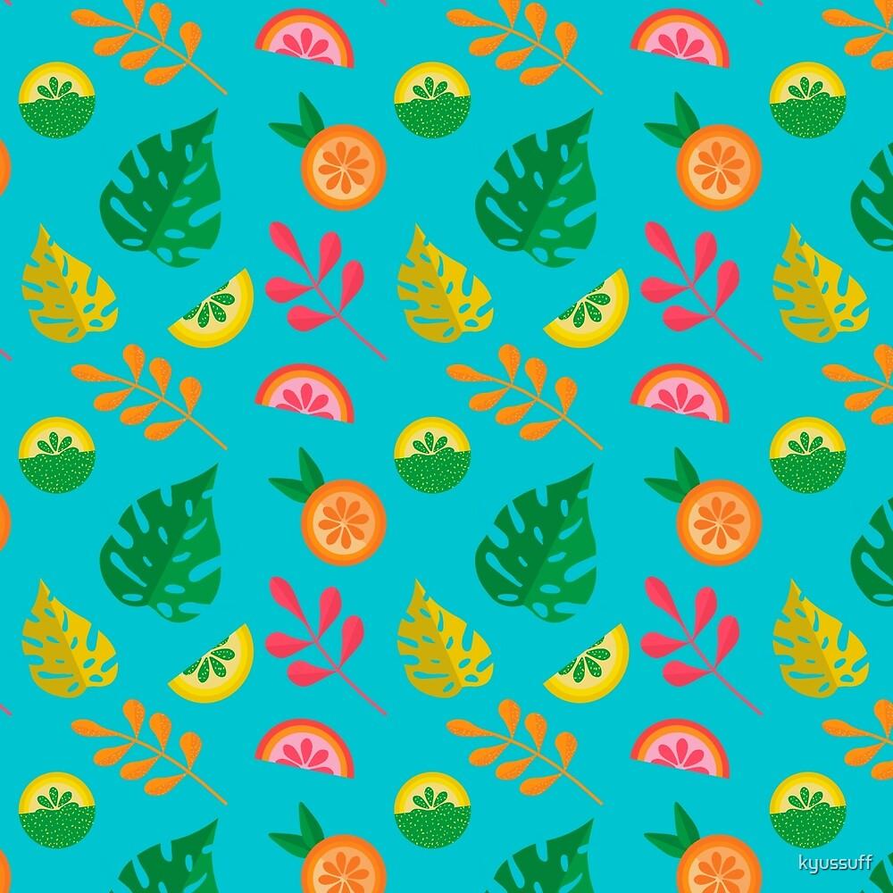 Tropicana Print by kyussuff