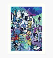 My City Conveyed Art Print