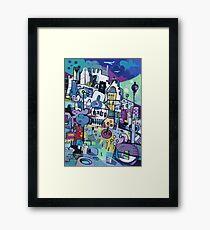 My City Conveyed Framed Print