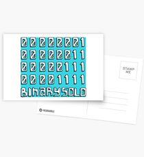 Postales Vuelo de los Conchords - Los humanos están muertos - Binary Solo