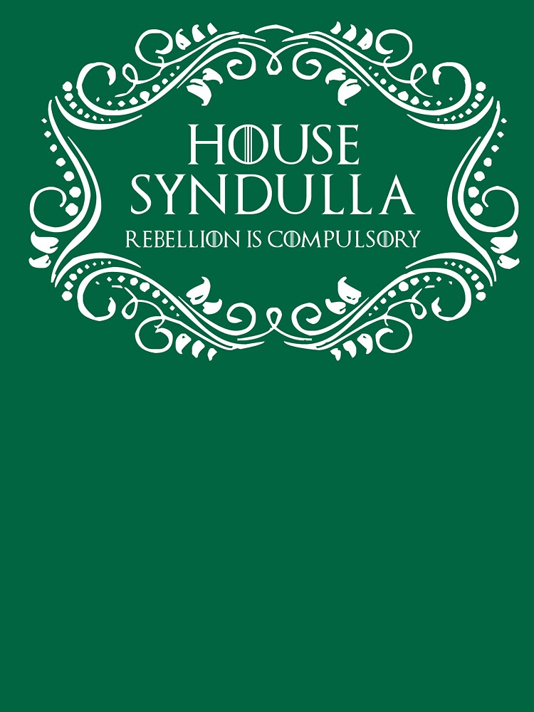 House Syndulla (white text) by houseorgana
