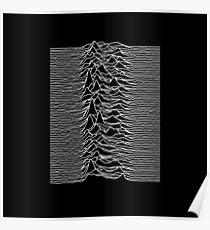 Joy Division Unknown Pleasures Album Poster