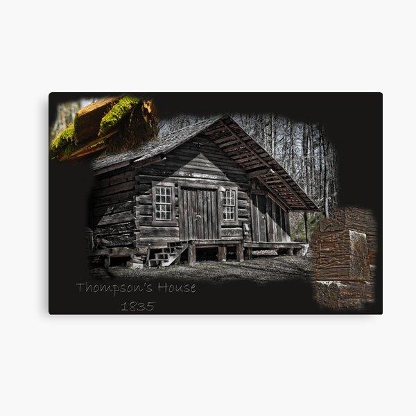 Thompson's Home Canvas Print