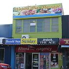 Newsagency and Massage by Joan Wild