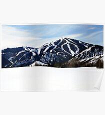 Bald Mountain, Sun Valley, Idaho Poster
