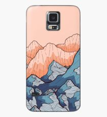 Mountains and hills Case/Skin for Samsung Galaxy