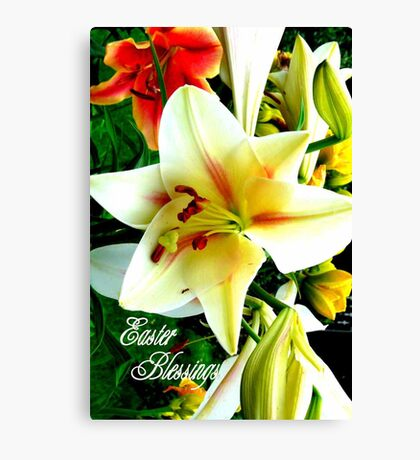Easter Blessings. Canvas Print