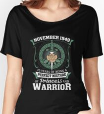 November 1949 Perfect Mixture Of Princess And Warrior Relaxed Fit T-Shirt