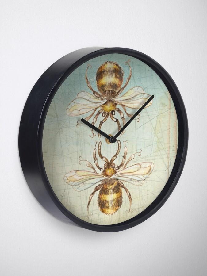 Alternative Ansicht von Bienen Uhr