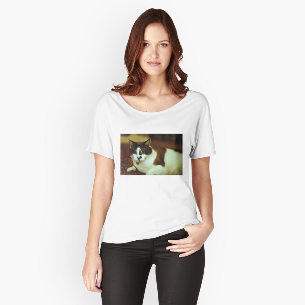 Alien Cat 35mm Loose Fit T-Shirt