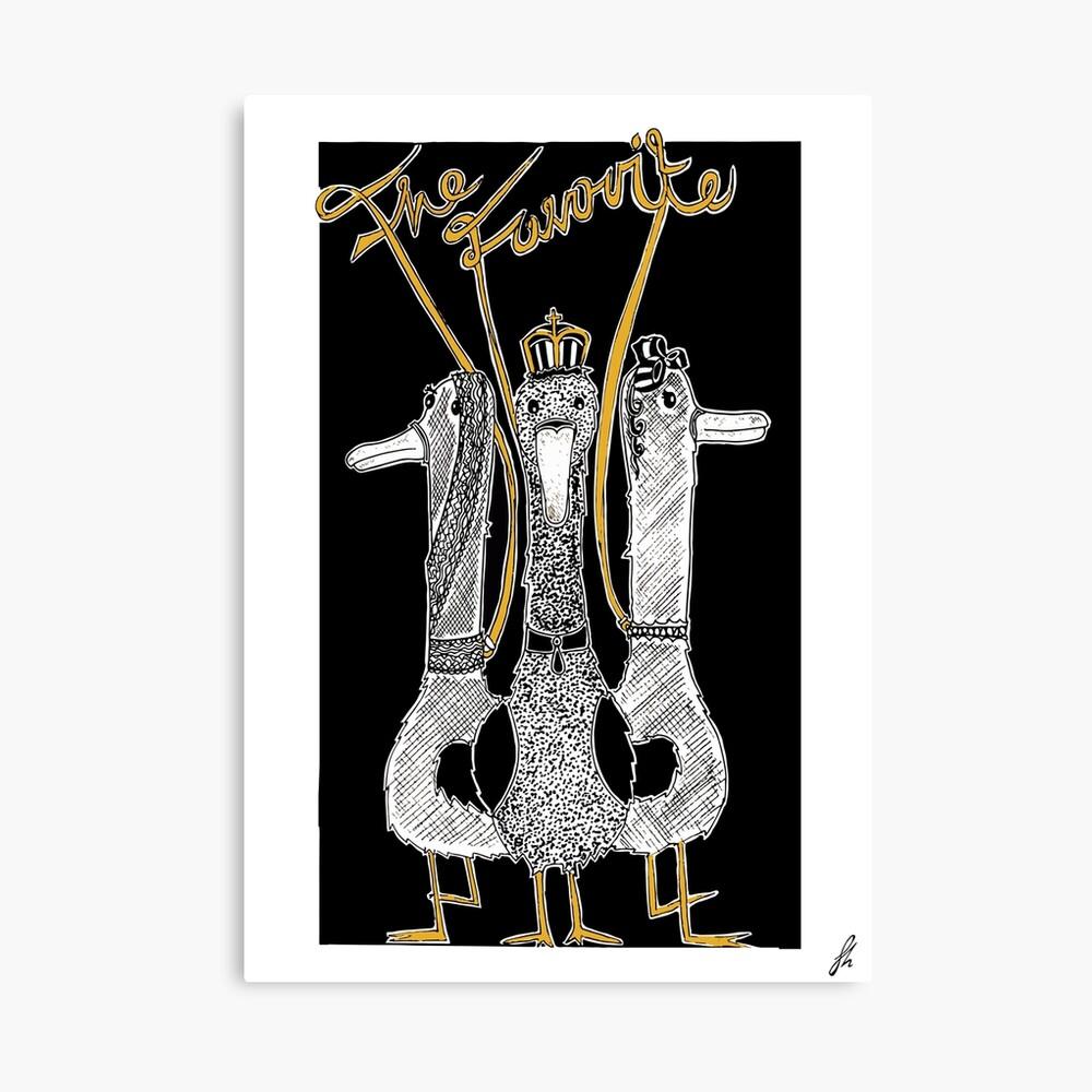 Der Favorit - Enten - Alternative Filmplakate Leinwanddruck