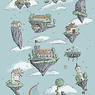 Floating Islands by tanaudel