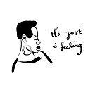 Nina Simone It's Just A Feeling by Charlotte Bailey