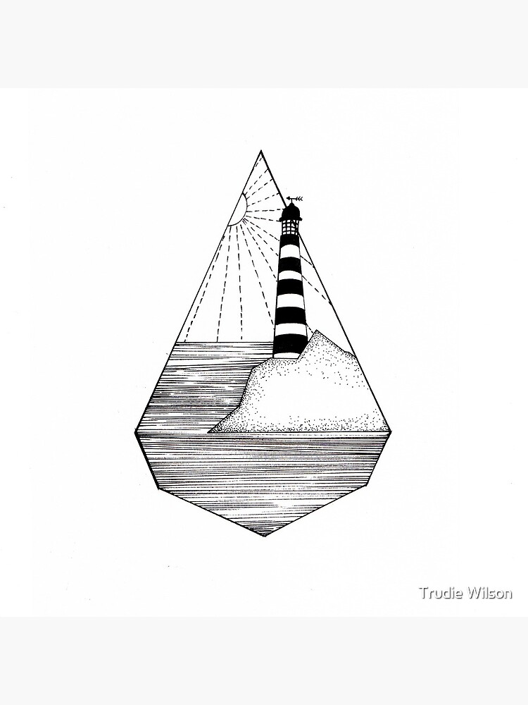 Lighthouse illustration  by Trudie-Wilson