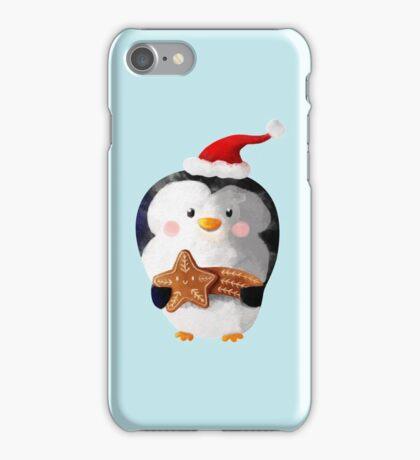 Cute Christmas Penguin iPhone Case/Skin