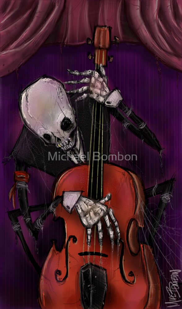 The Dead Cello by Michael Bombon