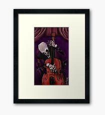The Dead Cello Framed Print
