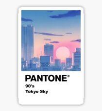 90er Jahre Tokyo Sky Sticker