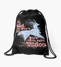 Blade Runner Sci Fi Science Fiction Ridley Scott Harrison Ford Unicorn Origami  Drawstring Bag
