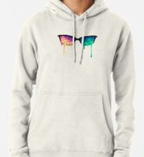 Abstract Polygon Multi Color Cubism Low Poly Triangle Design Hoodie