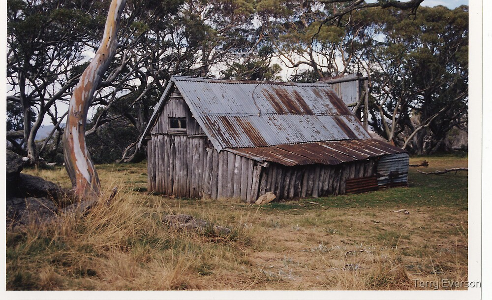 Cattlemans Hut by Terry Everson