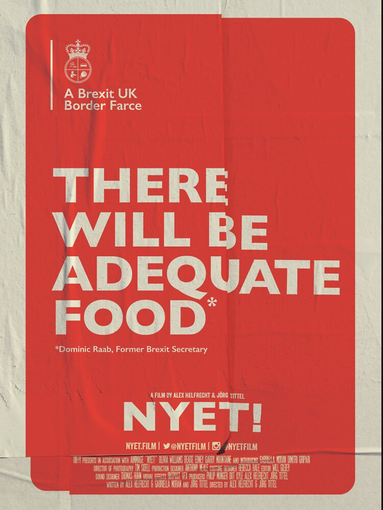 Adequate Food T-Shirt by nyetfilm