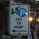 Pay here. by Mr. Sherman