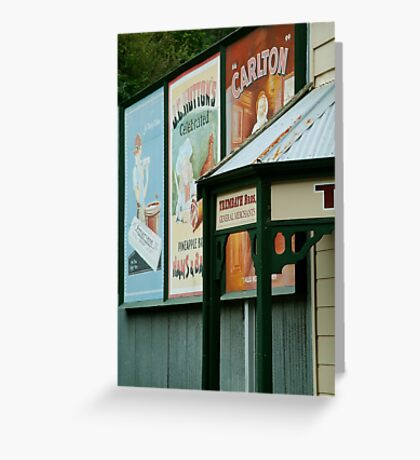 Walhalla Merchants Greeting Card