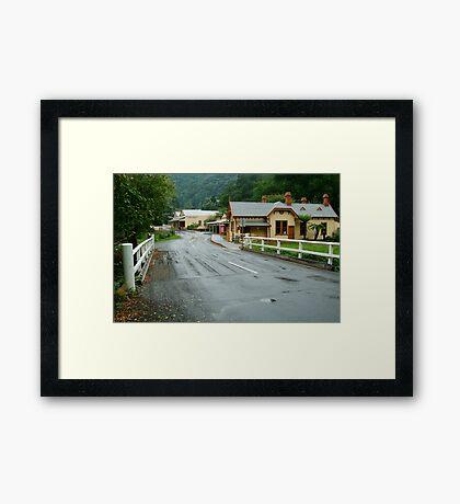 Walhalla Gippsland Framed Print