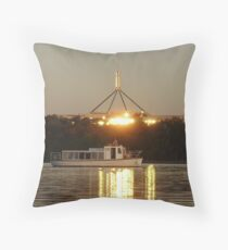 Lake Burley Griffin - Canberra Throw Pillow