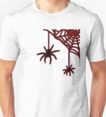 Spinne - Spinnennetz Unisex T-Shirt