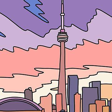 Toronto Himmel von Elebea von elebea