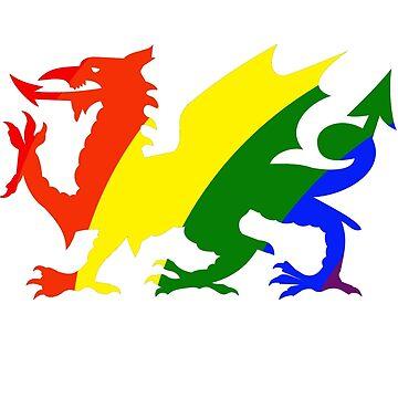 Rainbow Dragon by trudywinn