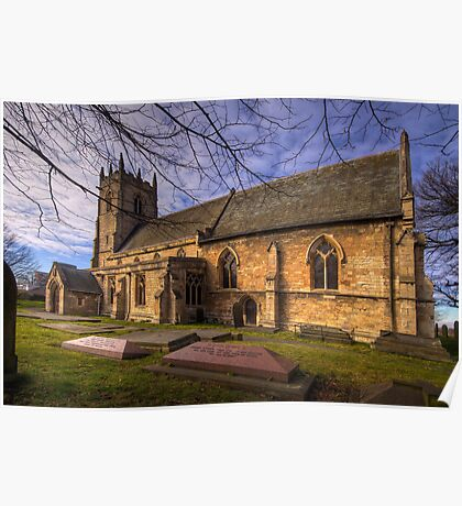 St Peter's & St Paul's Church in  Barnby Dun Poster