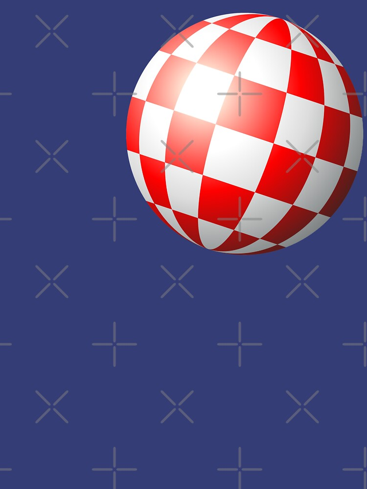 Amiga chequered boing ball (1984 CES Demo) by ccorkin
