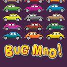 Geekdom - Volkswagen Beetle VW 'Bug Mad!' by ccorkin